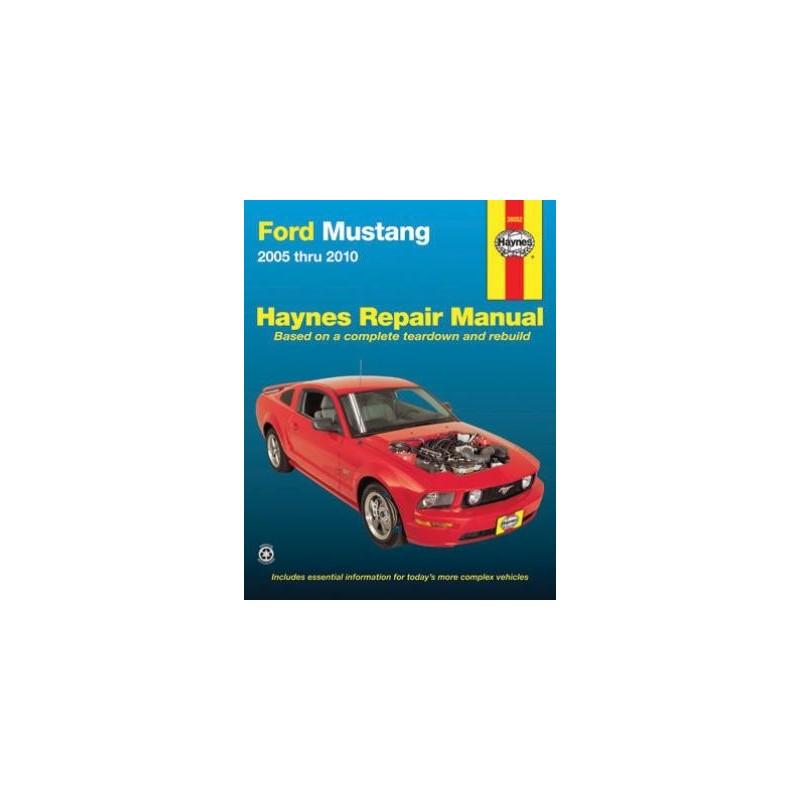 detail guide mustang haynes reparation