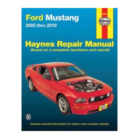 Guide Haynes Mustang 2005 à 2010