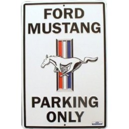 Plaque de parking Mustang