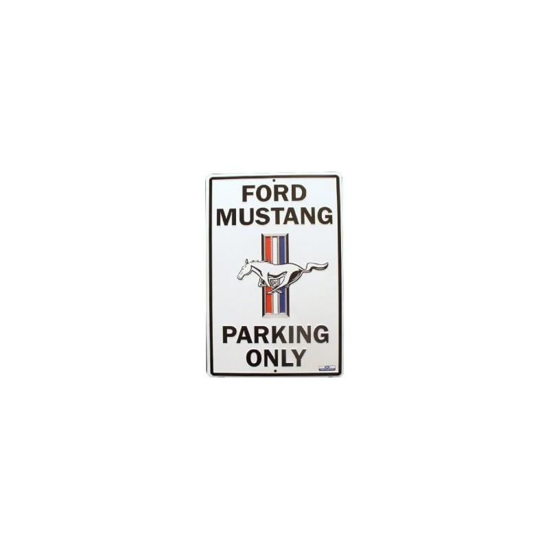 Plaque de parking Mustang