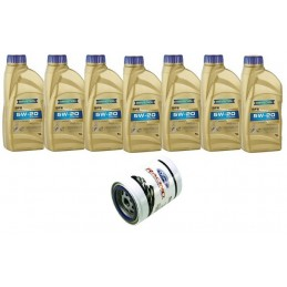 Pack 7 litres 5W20 + 1 filtre Ford Racing FL820s