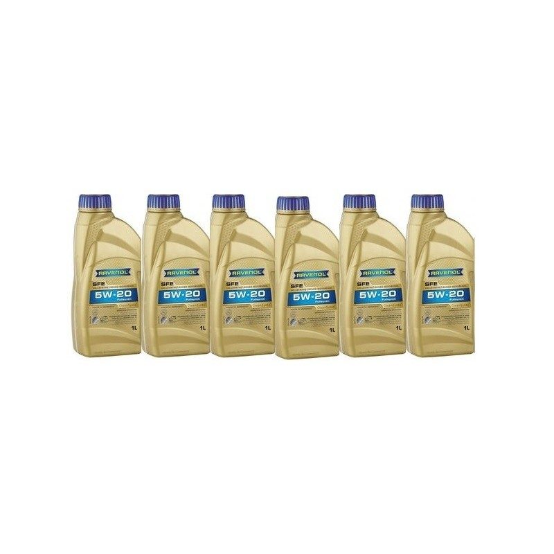 Pack 6 litres 5W20 + 1 filtre Ford FL820s (99-09)