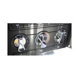 Set de 3 boutons de ventilation Mustang 2005-09