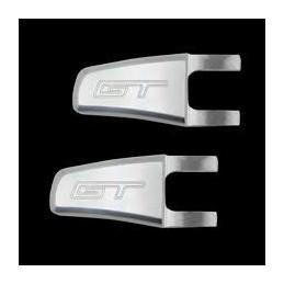 Loquets relève sièges Chrome logo Mustang GT 05-14