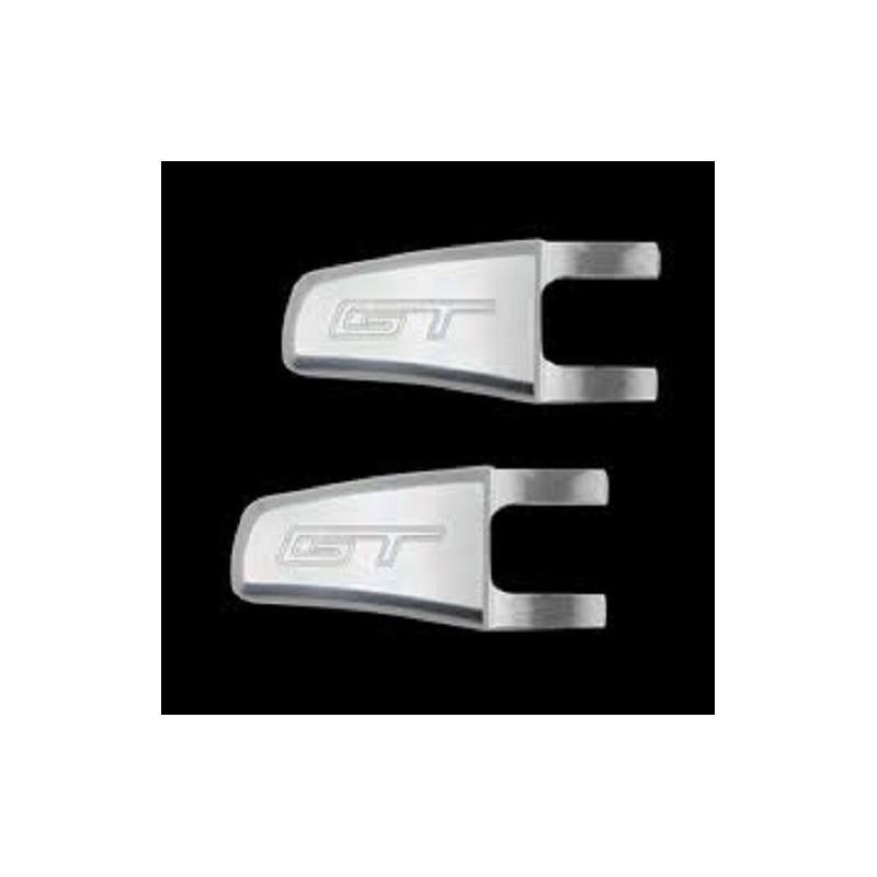 Loquets relève sièges satinés logo GT 2005-14