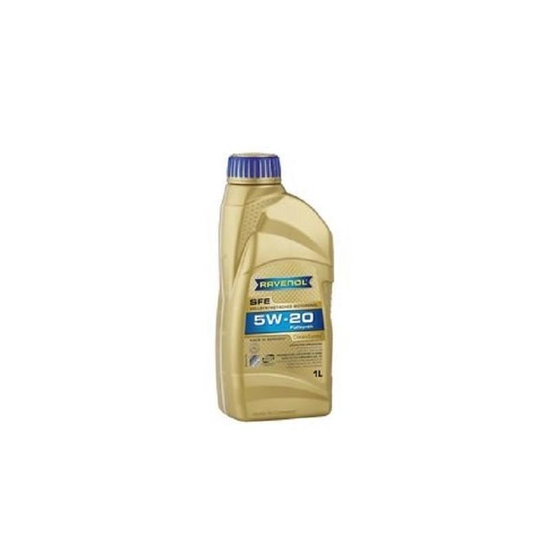 Huile 5W20 synthétique - 1 litre Ravenol