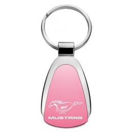 Porte clé Mustang Rose