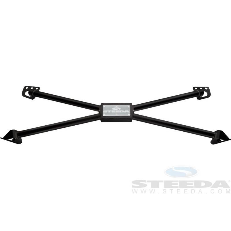 X de renfort chassis arrière Steeda Mustang 2005-14