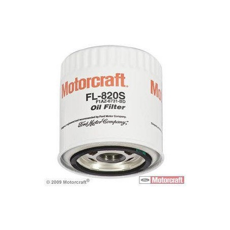 Filtre à huile FL820s Ford Motorcraft Mustang 1996-2010
