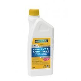 Liquide de refroidissement concentré mustang Ravenol - 5L