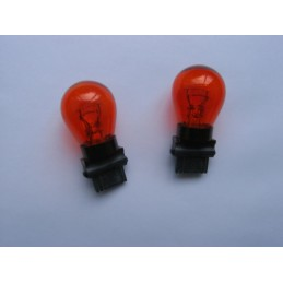 Ampoules Philips T25 3157 wedge oranges