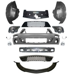 Kit conversion face avant Shelby GT500 Mustang 2005-09