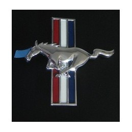 embleme pony mustang aileron