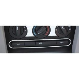 Contour boutons chrome Mustang 2005-09