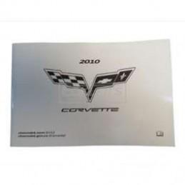 Manuel Chevrolet Corvette 2010- francais