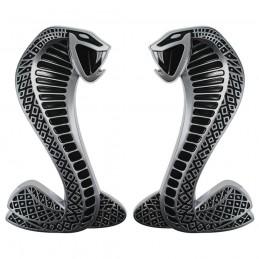 Emblèmes Cobra Chrome SHELBY