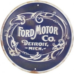 Plaque decorative Ford Motor Co retro