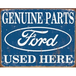 Plaque decorative Ford genuine parts used retro