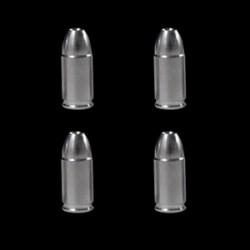 Bouchons de valve balle 9mm chrome