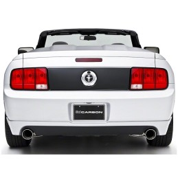 Jupe arriere 3D Carbon Mustang V6 05-09