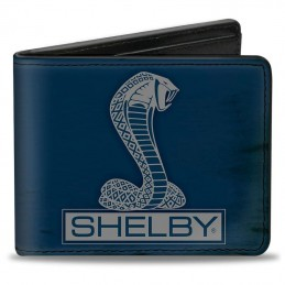 Portefeuille SHELBY bleu