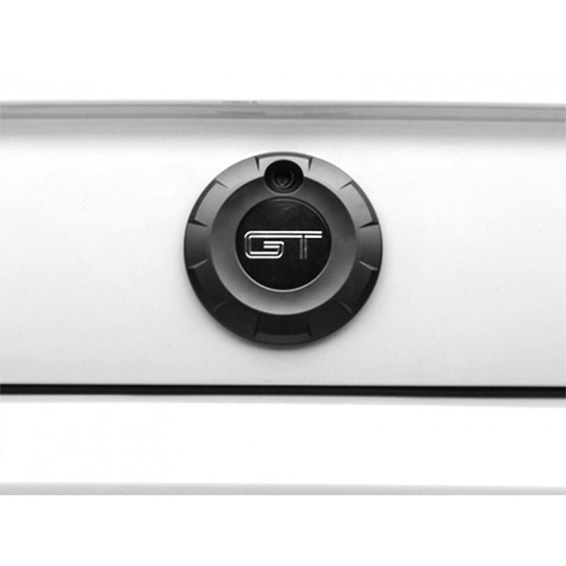 Logo de coffre GT noir mat mustang