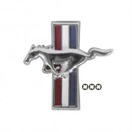 Pony de bouchon de reservoir Mustang 1967 et 1969-70