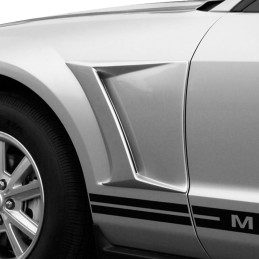Prises d'air avant latérales non peintes Mustang 2005-09