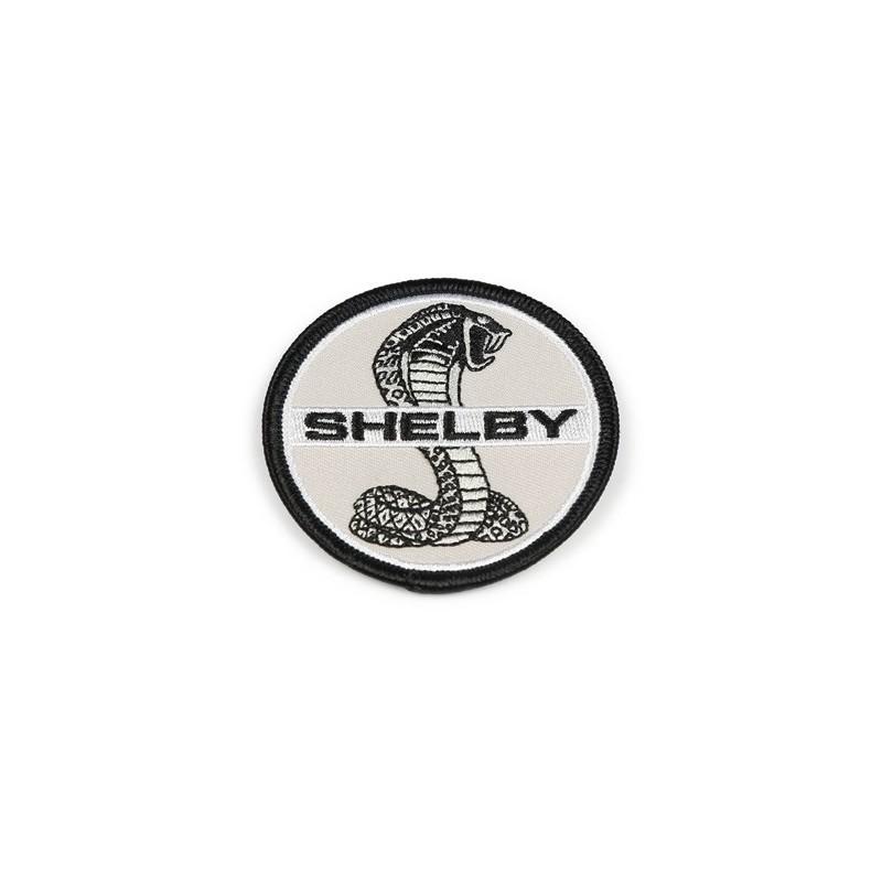 Patch Shelby rond noir et blanc officiel