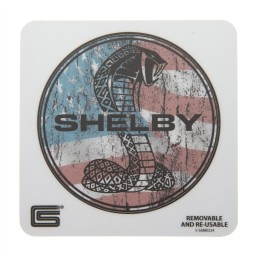 Sticker Shelby Patriotique