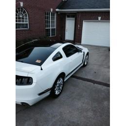 Sticker noir de toit Mustang 2005-14