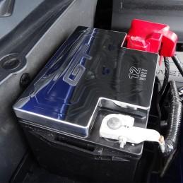 Couvre batterie Alu chromé Mustang 2011-14