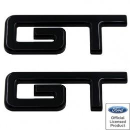 Logos d'aile GT en aluminium Mustang 2005-14