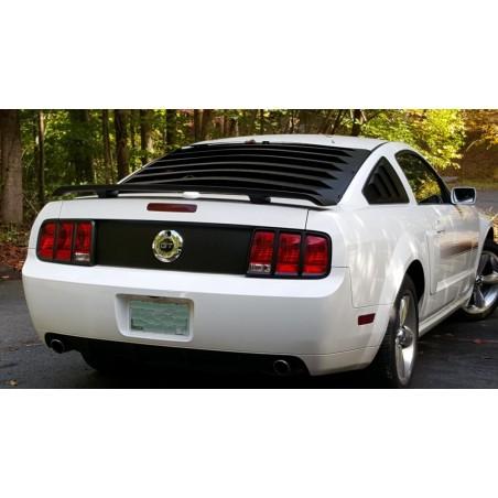 Contours de feux noir mat Mustang 2005-09