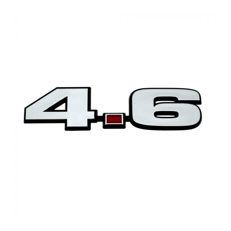 Logo 4.6 d'aile Mustang