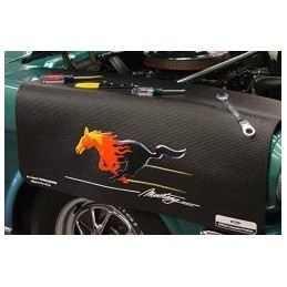 tapis mustang flamme flaming pony