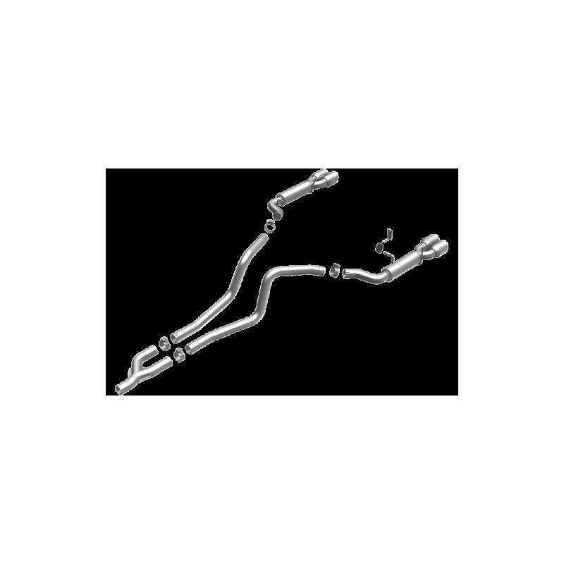Ligne Magnaflow Mustang V6 2010