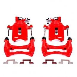 Etriers de freins arrières rouge Mustang 2005-14