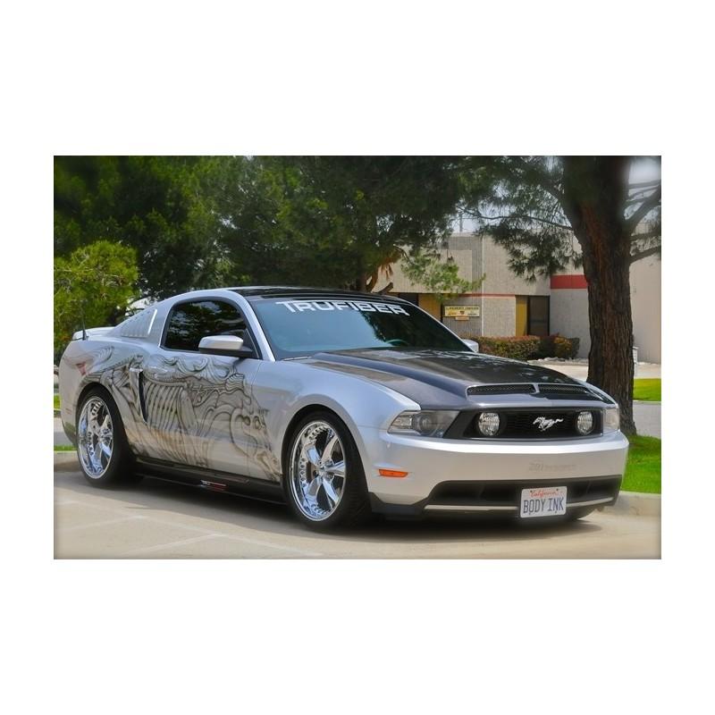 Capot Carbone Trufiber A53 RAM AIR Mustang