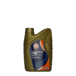 Huile 5W20 synthétique - 1 litre GULF