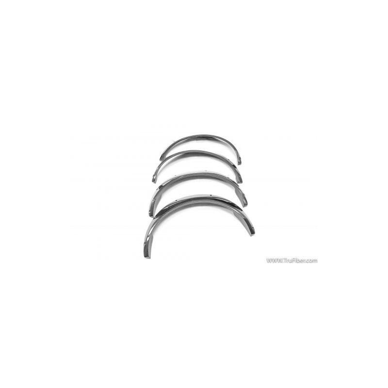 Extensions d'ailes  avant Carbone Trufiber Mustang 2010-14