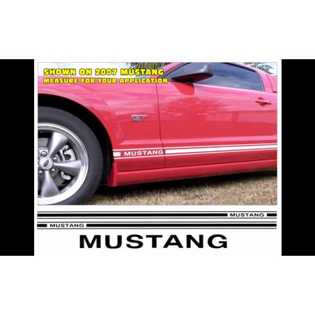 Bandes bas de caisse - Mustang- Mustang 2005-09