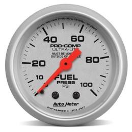 Manomètre de pression d'essence Autometer SVE