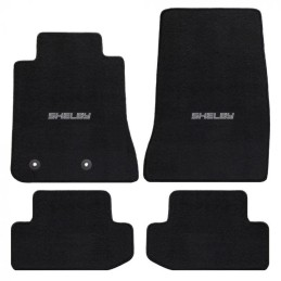 Tapis motif lettrage Shelby Mustang 2015-21