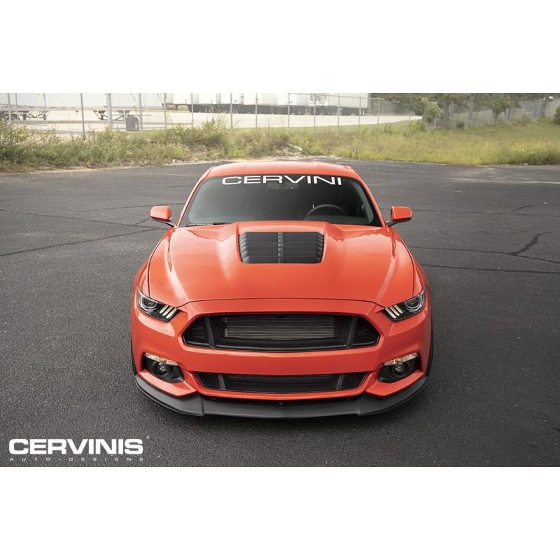 Capot Cervini style GT500 Mustang 2015-17