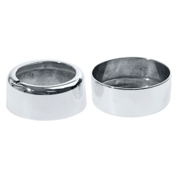Couvre bouton de climatisation Chrome Mustang 2011-14