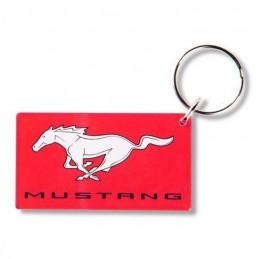 Porte clé Mustang plexi