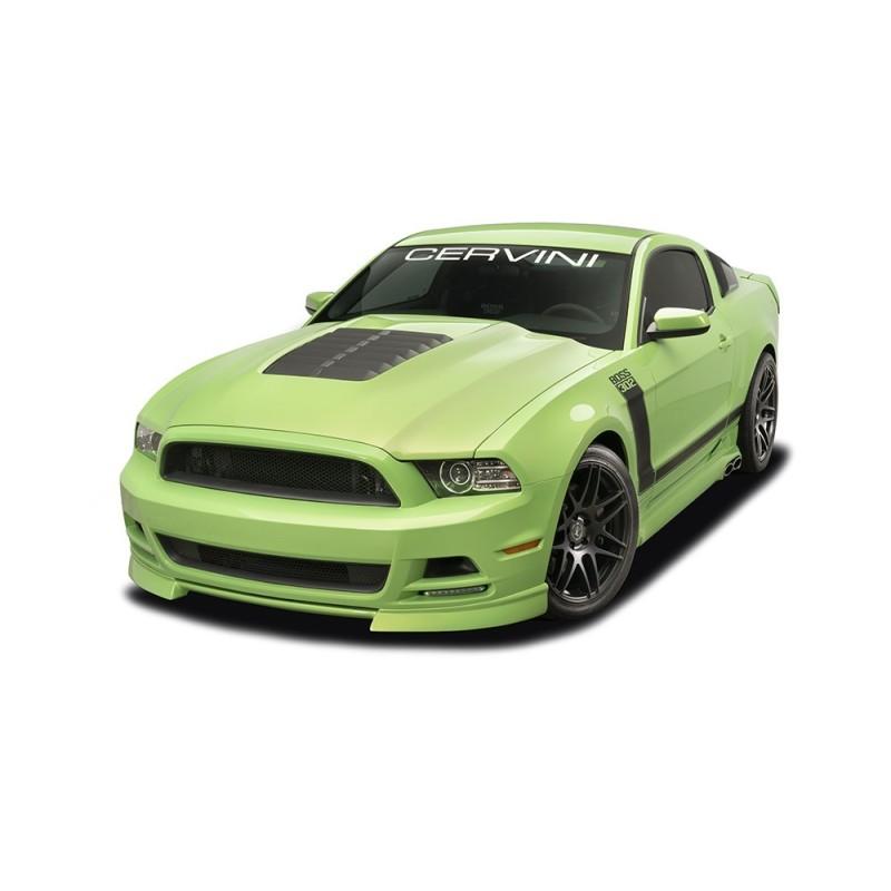 Capot Cervinis Style GT500 heat extractor Mustang 2013-14
