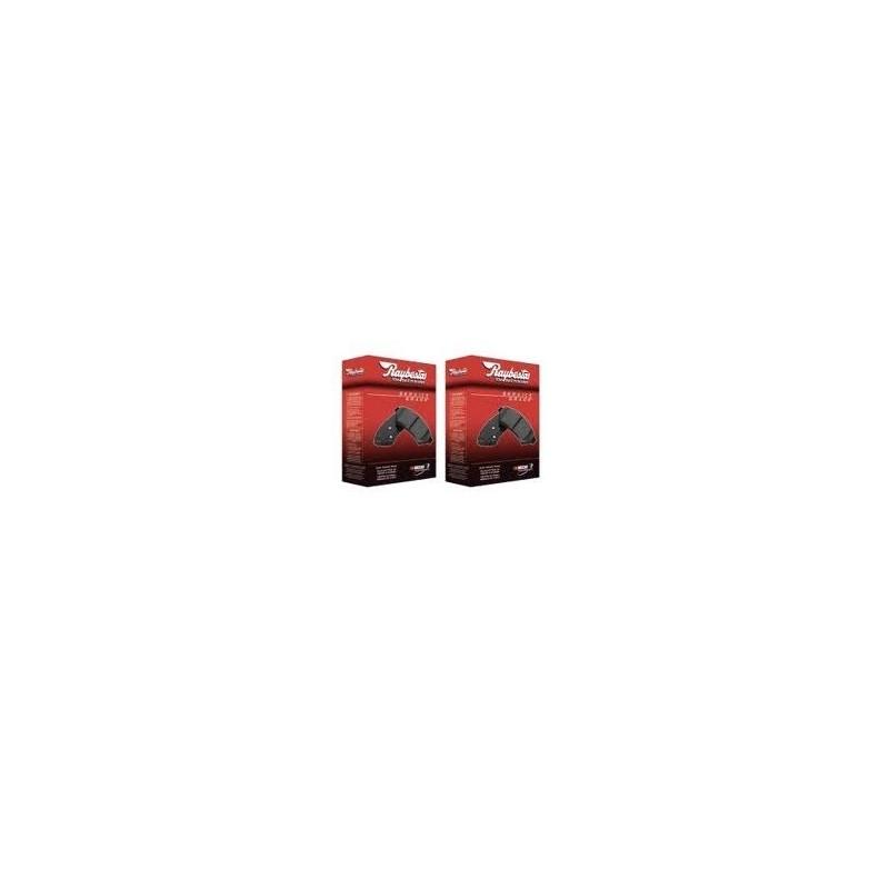 Plaquettes céramiques Raybestos avant + arrière 2005-10