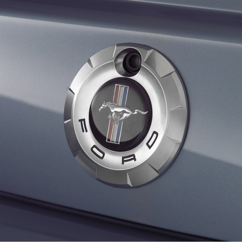 Logo de coffre Pony Mustang 2005 2009